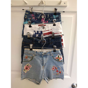 Justice Girls Sports Outdoors Apparel Shorts Sz M